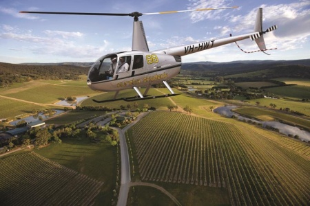 Yarra Valley Helicopter Flight to De Bortoli Winery including Lunch -