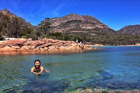 Hobart to Launceston Day Tour via Wineglass Bay -