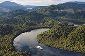 Wild West Coast Scenic Flight and Cruise -