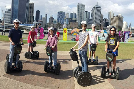 1 Hour Brisbane by Segway Joyride Tour -