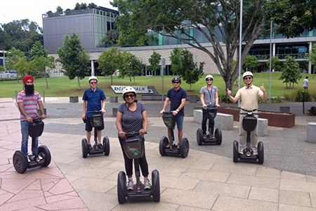 30 Minute Brisbane by Segway Joyride Tour -