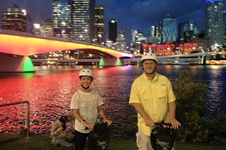 2 Hour Brisbane by Segway Night Tour -