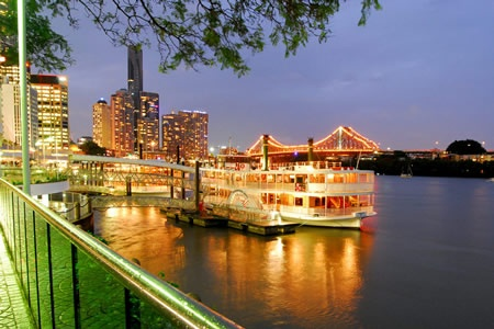 Brisbane River Christmas in July Dinner Cruise -
