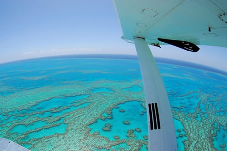 Reef and Whitehaven Scenic Seaplane Flight -