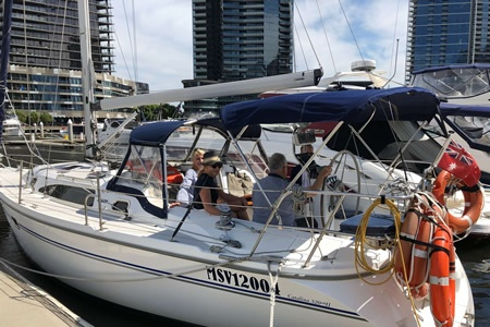 Private Sailing on Melbournes Port Phillip Bay for up to 9 - Sailing & Yacht Charter