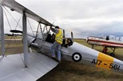 Scenic Tiger Moth Joy Flight Over Port Phillip Bay -