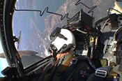 35 Minute Combat Strike Mission in a Jet Fighter -