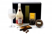 Cream Liqueur and Chocolates Hamper -