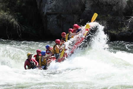 Lower Mitta Mitta Summer Sports Rafting Adventure