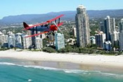 35 Minute Tiger Moth Aerobatic Flight Over The Gold Coast