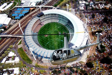 Melbourne City Sights and MCG 20 Minute Scenic Helicopter Flight -