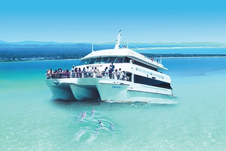 Port Stephens Experience Day Tour -