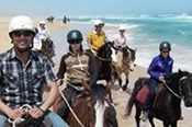 Private Horse Riding Beach Trail Ride for Two -