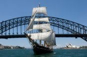 Tallship Lunch Cruise on Sydney Harbour -