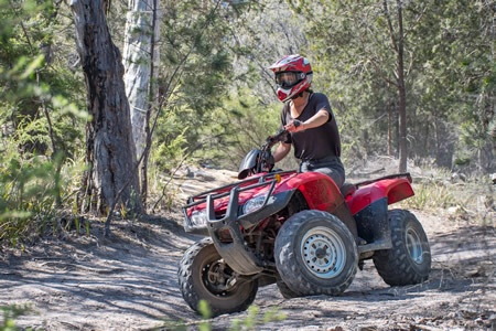 Two Hour Quad Bike Adventure in the Freycinet National Park - Off Road