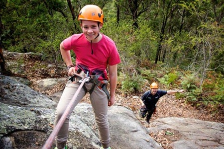 Abseiling and Kayaking Adventure -