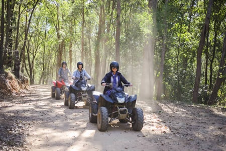 Kayaking and Quad Biking Adventure