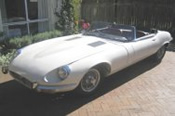 1968 Jaguar E Type Car Hire!