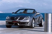 Hire a Mercedes - SLK350 Convertible Roadster - Melbourne CBD