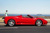 Hire a Ferrari F360 Spyder - Car Hire