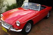 1964 MGB Roadster Car Hire!