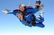 Tandem 14,000 Feet Skydive over Rockingham -
