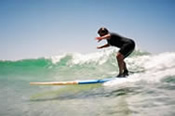 Private Beginner Surf Lesson -