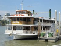 Weekday Brisbane River Lunch Cruise on a Paddlewheeler