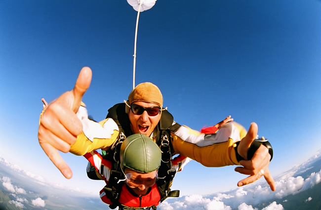 Sky Diving Experiences