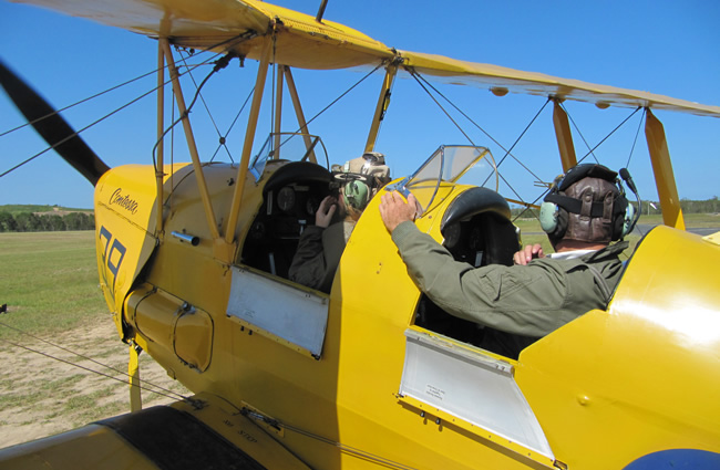 Flight & Flying - Tiger Moth