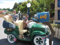 Driving Goofy's Car