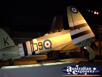 Hawker Sea Fury . . . CLICK TO VIEW ALL AUSTRALIAN WAR MEMORIAL (AIRCRAFT) POSTCARDS