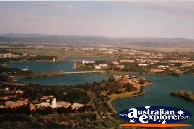 View Of Canberra City . . . VIEW ALL CANBERRA PHOTOGRAPHS
