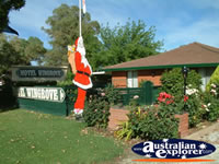 Corowa Motel Santa Claus . . . CLICK TO ENLARGE
