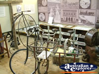 Corowa Museum Bicycle Display . . . CLICK TO ENLARGE