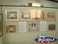 Corowa Museum Wall Display . . . CLICK TO ENLARGE