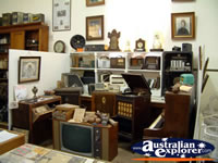 Corowa Museum Living Room Artifiacts . . . CLICK TO ENLARGE