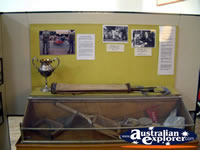 Corowa Museum Sports Artifacts . . . CLICK TO ENLARGE