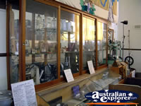 Corowa Museum Cabinet Display . . . CLICK TO ENLARGE