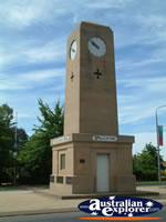 Corowa Town Clock . . . CLICK TO ENLARGE