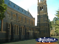 Cathedral in Armidale . . . CLICK TO ENLARGE