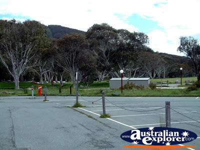 Thredbo Car Parks . . . VIEW ALL THREDBO PHOTOGRAPHS