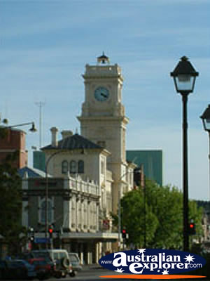 Buildings Down Goulburn Street . . . CLICK TO VIEW ALL GOULBURN POSTCARDS