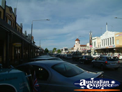 Cars Parked at Goulburn Street . . . CLICK TO VIEW ALL GOULBURN POSTCARDS