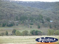 View of Khancoban from Behind Lakeside Caravan Park . . . CLICK TO ENLARGE