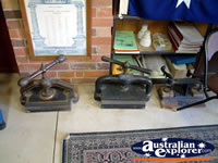 Canowindra Historical Museum Equipment . . . CLICK TO ENLARGE