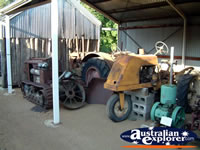 Canowindra Historical Museum Tractors . . . CLICK TO ENLARGE