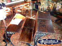 Canowindra Historical Museum School Desk . . . CLICK TO ENLARGE