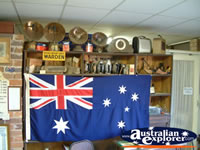 Canowindra Historical Museum Australian Flag . . . CLICK TO ENLARGE
