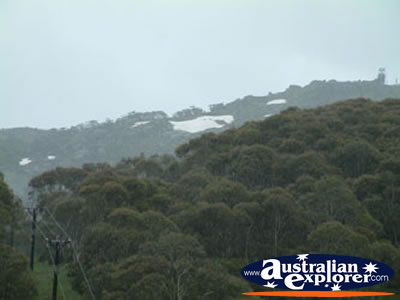 View off Thredbo Mountains . . . VIEW ALL THREDBO PHOTOGRAPHS